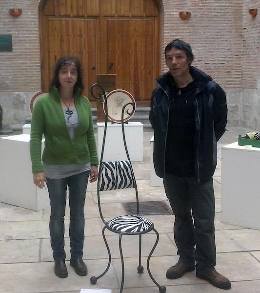 Premio Artesanía , Silla forja, Medina del Campo